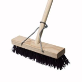 platform broom 300mm hard